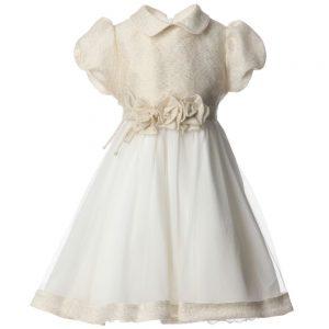 ALETTA Gold & Ivory Dress