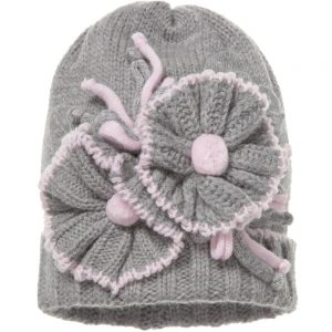 ALETTA Grey Wool & Cashmere Hat