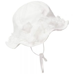 ALETTA Ivory Lace Hat 1