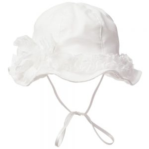 ALETTA Ivory Lace Hat