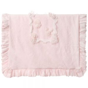 ALETTA Padded Lace Blanket (87cm)
