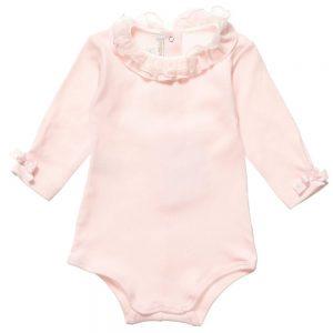 ALETTA Pink Cotton Bodyvest