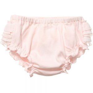 ALETTA Pink Lace Ruffle Knickers 1