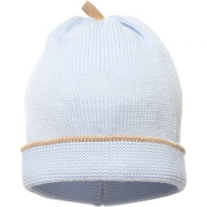 ALVIERO MARTINI Baby Boys Pale Blue Wool Hat