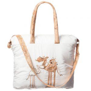 ALVIERO MARTINI Beige Camel Baby Bag (45cm)