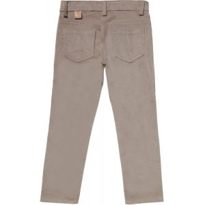 ALVIERO MARTINI Beige Cotton Velvet Trousers 1