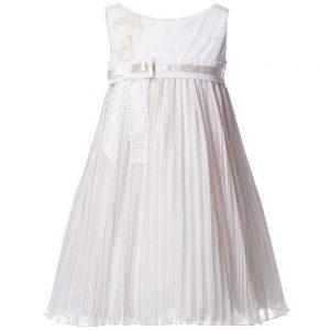 ALVIERO MARTINI Beige Vintage Map Tulle Dress