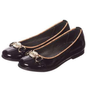 ALVIERO MARTINI Black Patent Leather Shoes