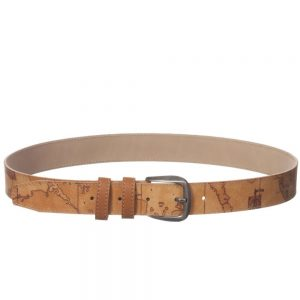 ALVIERO MARTINI Boys Beige Map Print Belt