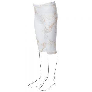 ALVIERO MARTINI Girls Beige Cotton Leggings