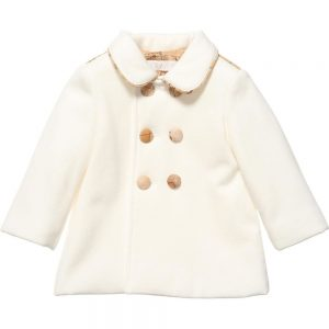 ALVIERO MARTINI Girls Ivory Padded Coat