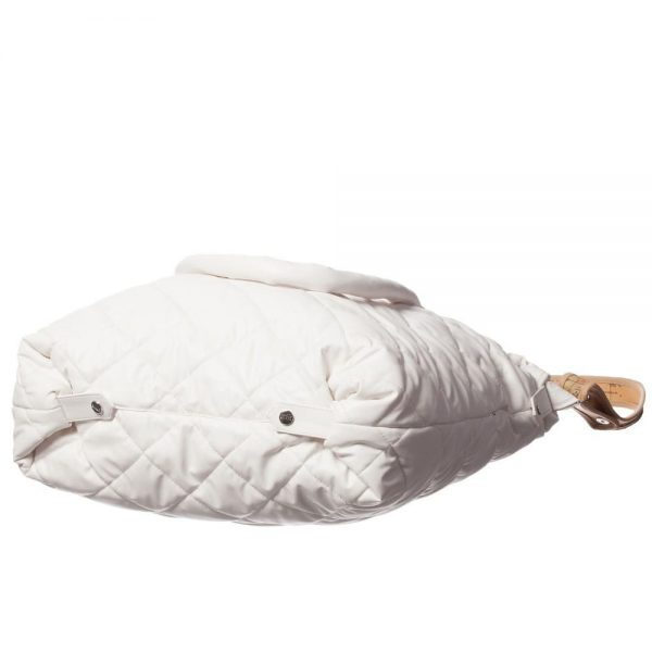 ALVIERO MARTINI Ivory Quilted Baby Bag (45cm) 3