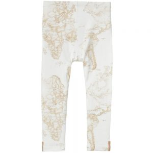 ALVIERO MARTINI Ivory Vintage Map Leggings