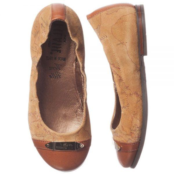 ALVIERO MARTINI Map Print Girls Shoes 1
