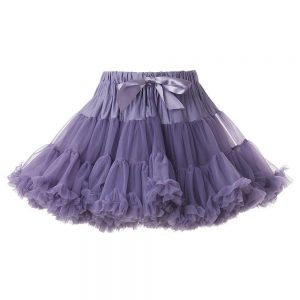 ANGEL'S FACE Dusky Lavender Chiffon Frilled Tutu Skirt