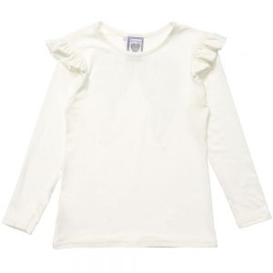 ANGEL'S FACE Ivory Jersey Diamante Wings Top 1