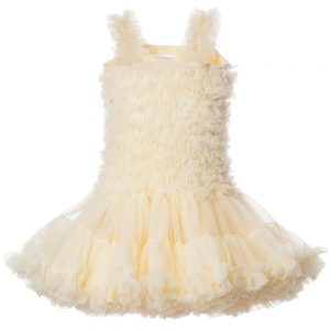 ANGEL'S FACE Primrose Yellow Chiffon Frilled Tutu Dress
