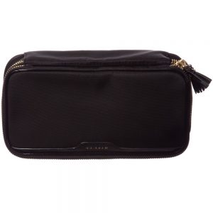 ANYA HINDMARCH Black Nylon 'Make-Up' Bag (22cm)