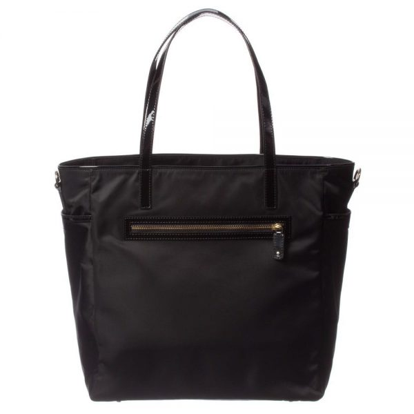 ANYA HINDMARCH Black 'Oakley' Baby Bag (31cm) 2