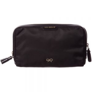 ANYA HINDMARCH Black Small 'Make-Up' Bag (19cm)