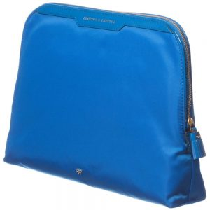 ANYA HINDMARCH Blue 'Lotions and Potions' Bag (32cm) 1
