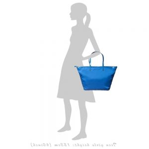 ANYA HINDMARCH Blue 'Workout' Tote Bag (52cm) 1