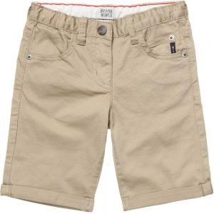 ARMANI JUNIOR Boys Beige Cotton Shorts