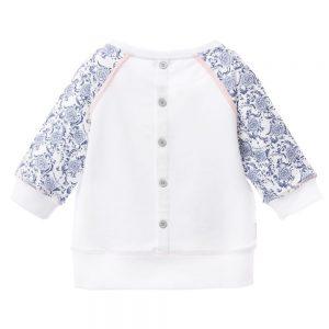 ARMANI TEEN Girls Floral Logo Sweatshirt 1