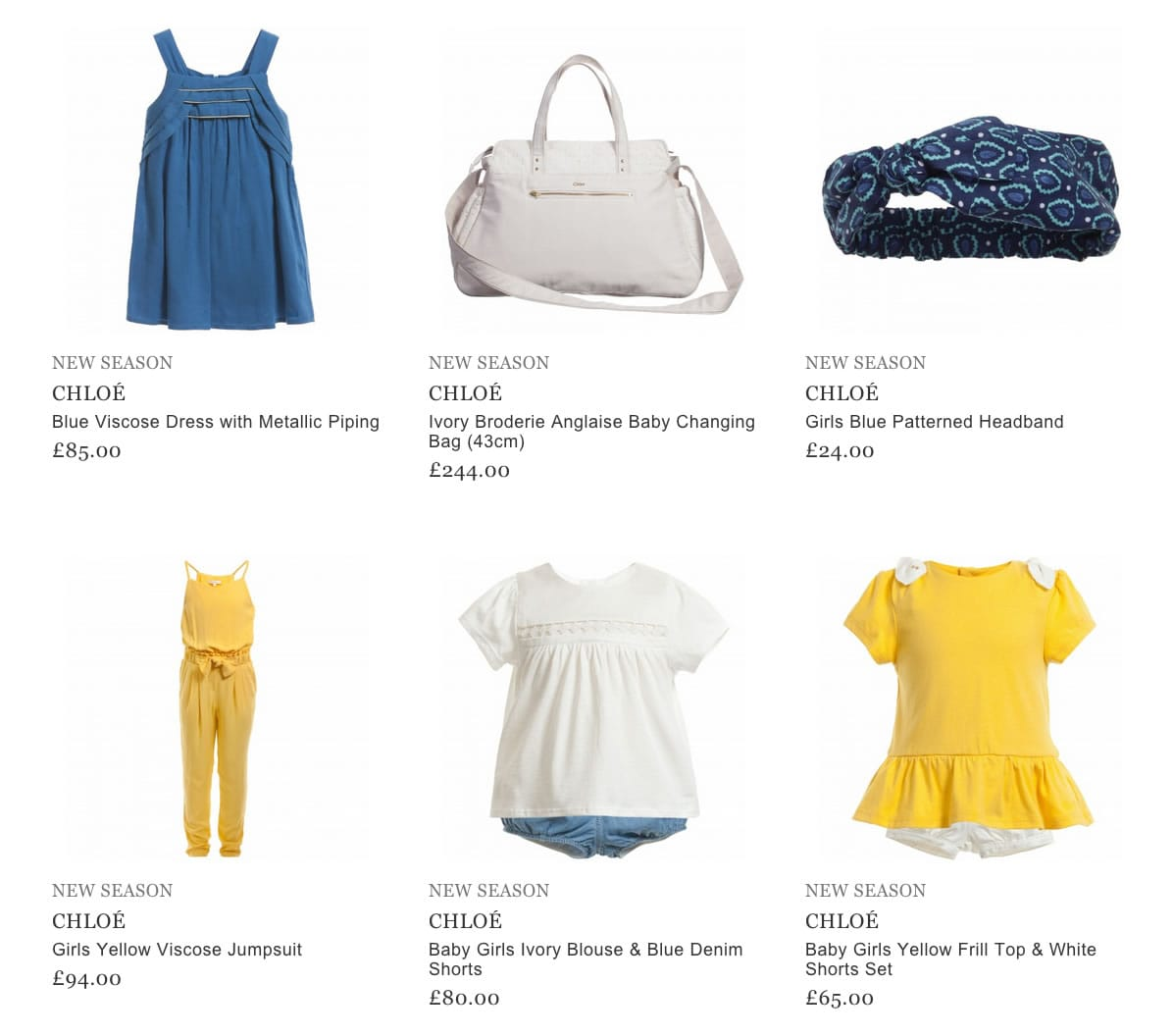 Chloe Children Clothes