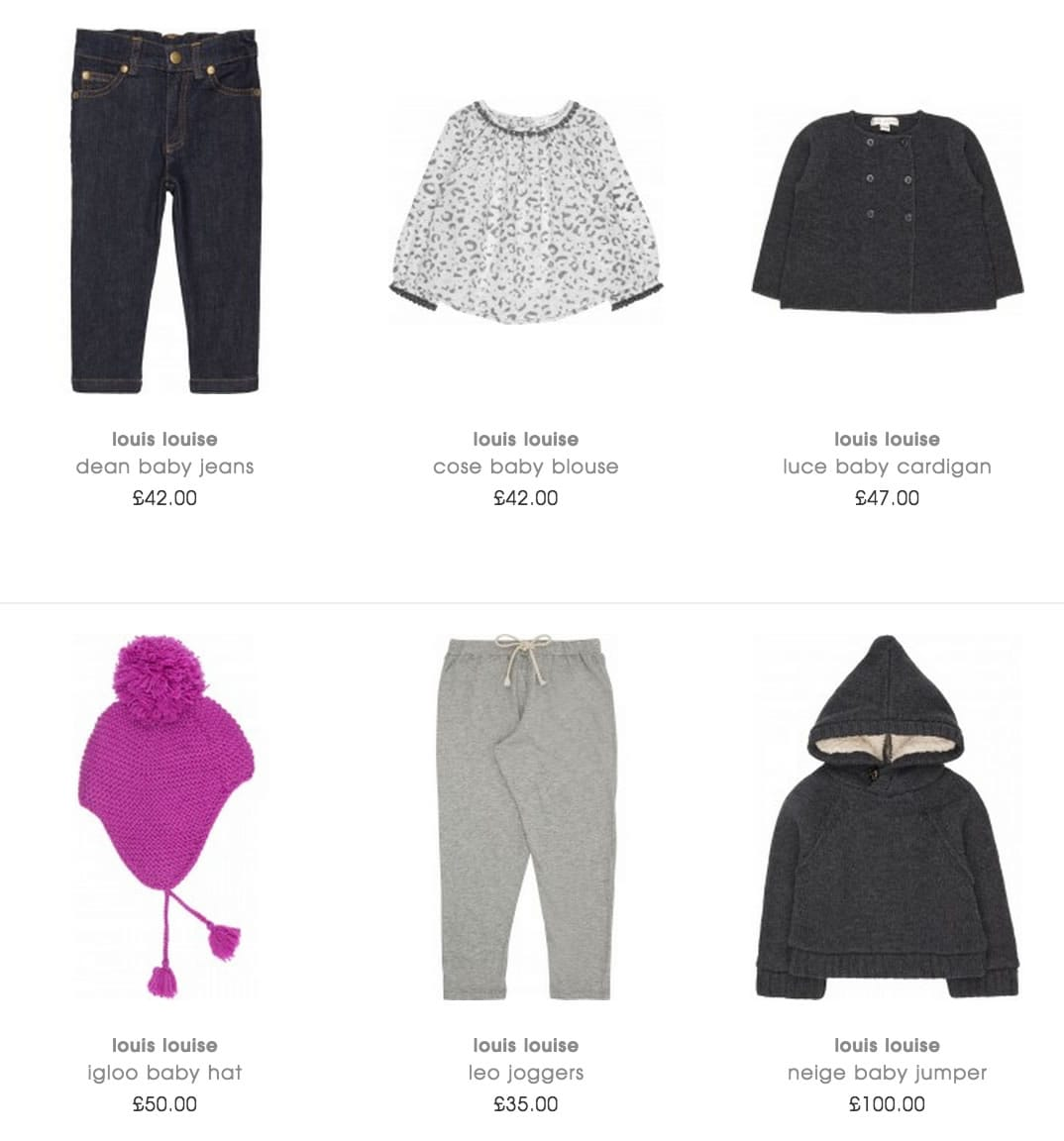 Louis Louise Kids Clothes