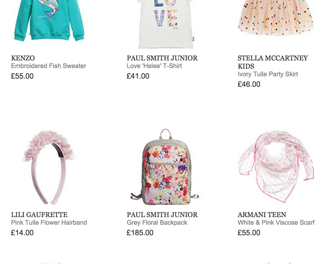 NEW ARRIVALS FROM BURBERRY, SUPERTRASH, STELLA MCCARTNEY KIDS AND MORE