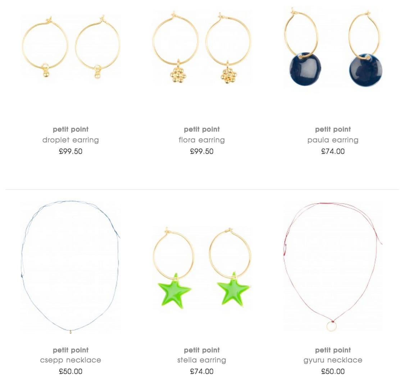 Petit Point Baby Jewellery
