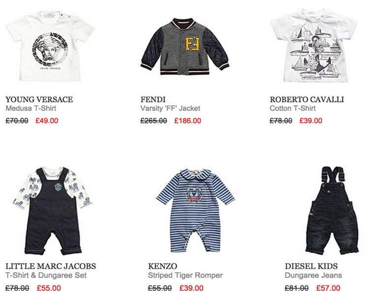 SALE TOP PICKS – BABY BOY DESIGNERS CLOTHES