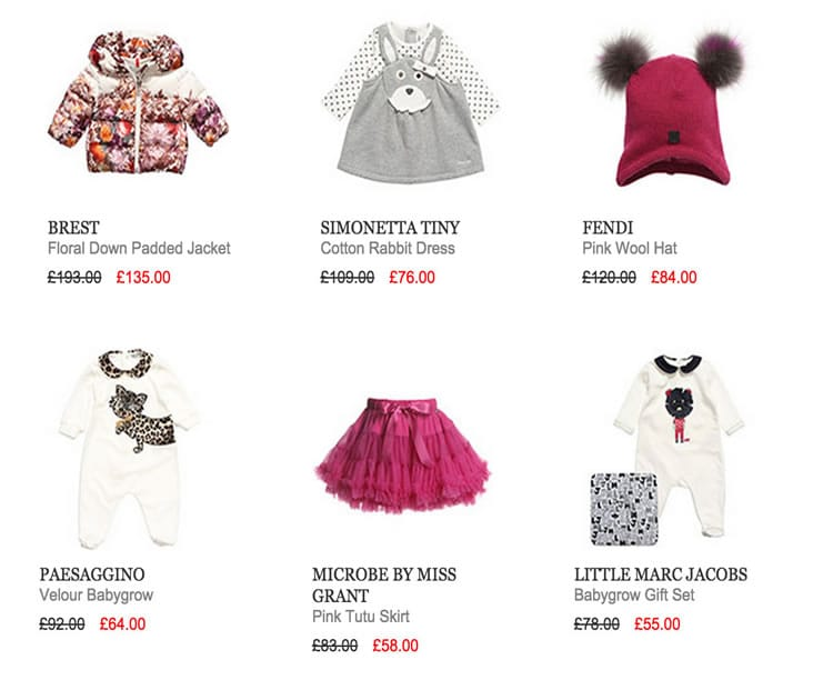 SALE TOP PICKS – BABY GIRL DESIGNERS CLOTHES