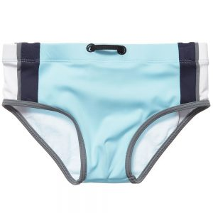 ARMANI BABY Baby Boys Blue Swim Pants