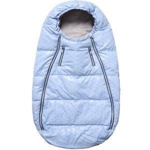 ARMANI BABY Blue Padded Baby Nest (77cm)
