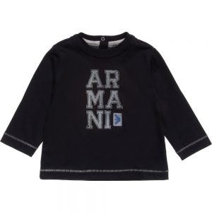 ARMANI-BABY-Boys-Navy-Blue-Cotton-T-Shirt1