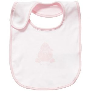 ARMANI BABY Girls Pink Cotton Jersey Bibs Gift Set (Pack of 3) 1