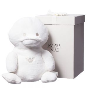 ARMANI BABY Large Soft Toy Duck in a Gift Box (35cm)