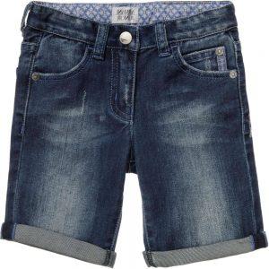 ARMANI JUNIOR Boys Blue Denim Shorts