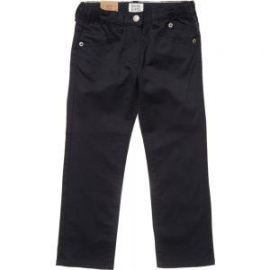 ARMANI JUNIOR Boys Navy Blue Chino Trousers