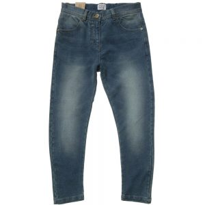 ARMANI TEEN Boys Soft Blue Jeans with Keychain