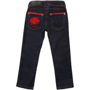 BILLIONAIRE Boys Dark Blue Denim Jeans 1