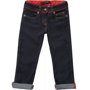 BILLIONAIRE Boys Dark Blue Denim Jeans