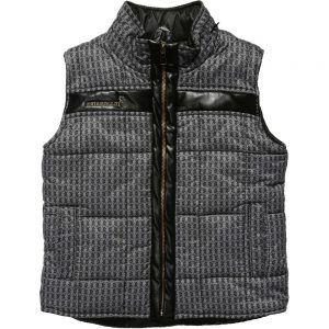 BILLIONAIRE Boys Grey Sleeveless Jacket