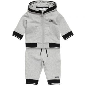 BOSS-Baby-Boys-Grey-Hooded-Tracksuit