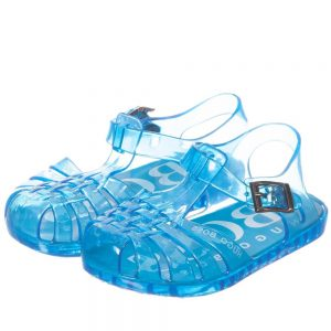 BOSS Unisex Blue Jelly Shoes