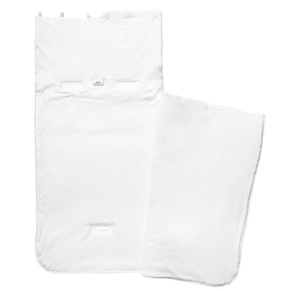 8219dfa7fbdc98 BURBERRY Unisex White Padded Baby Nest (76cm) - Children Boutique