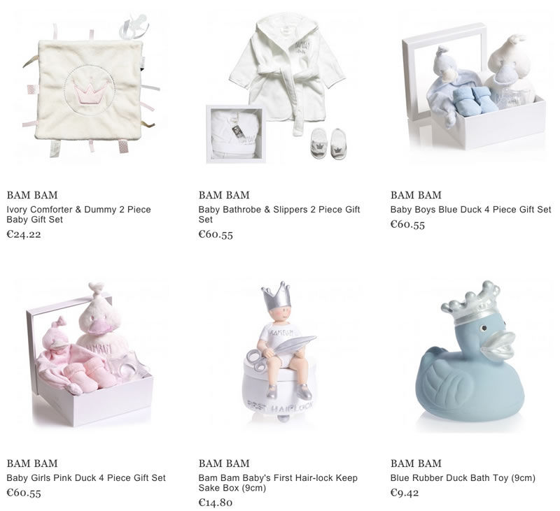 Bam Bam Baby Gifts and Accessories