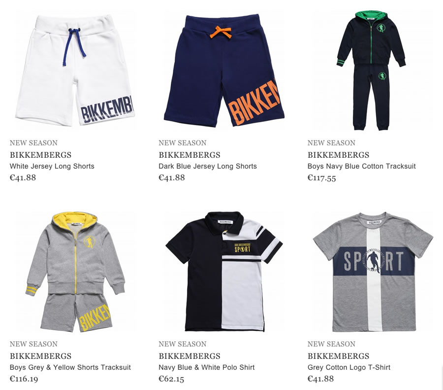 Bikkembergs clothes